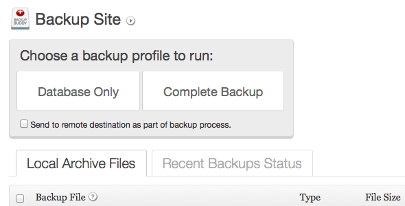 What's a Great WordPress Plugin for Backing Up Your Site?