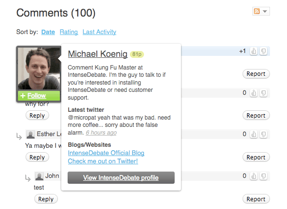 What's a Great WordPress Plugin for Enhanced Comments?