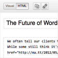 The Future of WordPress: Radically Simplified